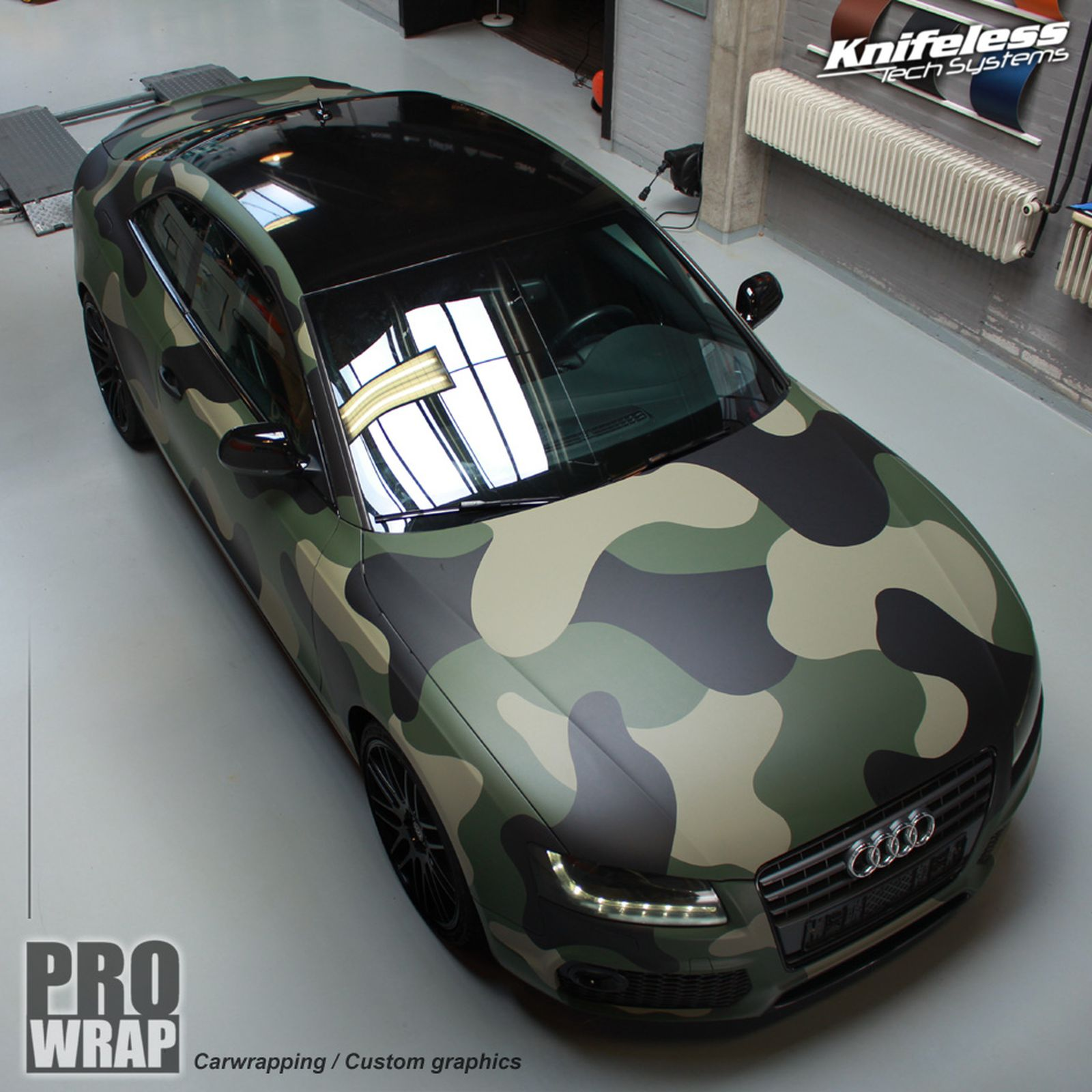 Audi A5 Cammo Prowrap Eindhoven